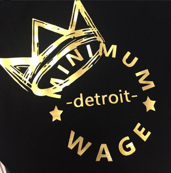 Minimum Wage Clothing T-Shirt