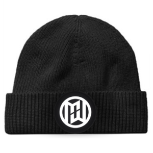 Minimum Wage Clothing Logo Beanie Hat